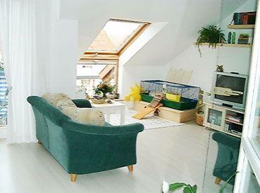 angebote miete ludwigshafen moderne lichtdurchflutete 2 zimmer dachgeschosswohnung in. Black Bedroom Furniture Sets. Home Design Ideas